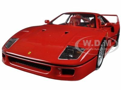 Ferrari F40 Red Original Series 1:18 Diecast Model Car Bburago 16601