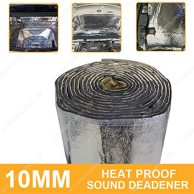 10MM Sound Proofing Heat Insulation Closed Cell Foam Foil Faced Material Camper
