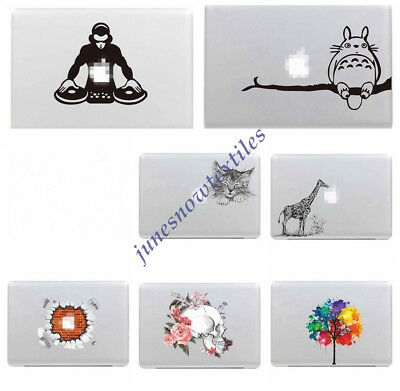 Removeable Vinyl Decals Stickers Laptop Skin Cover Macbook Air/Pro Retina 13 15""