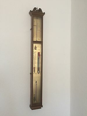 Wetterstation Barometer Thermometer  Admiral Fitzroy Maritim 100cm Lang