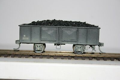 NSW HO K 4 Wheel Open Wagon with Coal Load - RTR