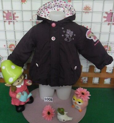 manteau fille taille 2 ans NEUF