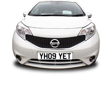 Y H09YET Cherished REGISTRATION NUMBER Why HARRIET - All Transfer Fees Included