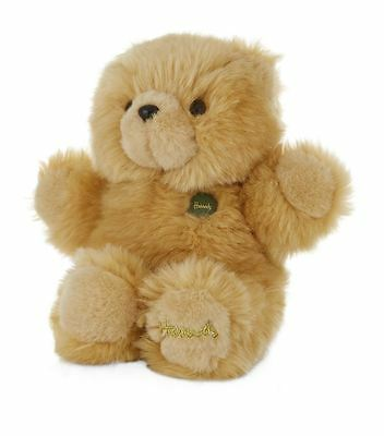 Harrods London Green Button Limited Edition Small Honey Bear - Christmas Gift