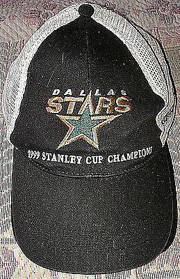 NHL Dallas Stars 1999 Stanley Cup Champions Cap Hat Sponored by Bud Light