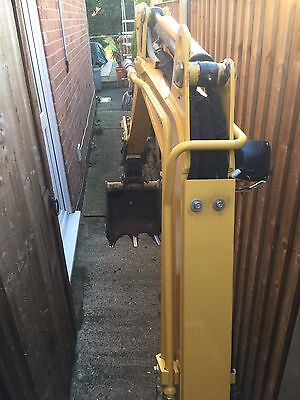 Mini Digger Micro Digger with driver Post Drilling Fencing/ Footings