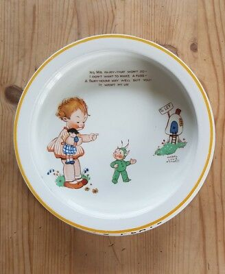 Shelley Baby Plate Mabel Lucy Attwell