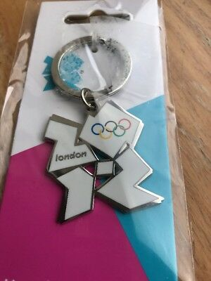 London 2012 Olympics Keyring Olympic Logo Collectible Memorabilia Mint Sealed