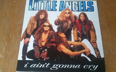 Little Angels I Ain't Gonna Cry Tare 1991 4 Track Uk Gatefold 12""