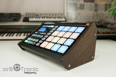 Native Instruments Machine Micro MK1 MK2 Real wood Side panel Stand DO