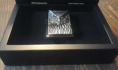 Zippo Night Hunter, Eule, Limited Edition 370/500, NEU in Box...