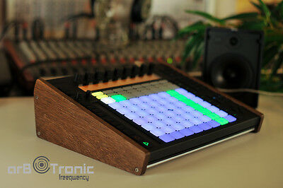 Ableton Push 1 Real Wood Side Panel Wooden Side Panel Stand End Cheeks