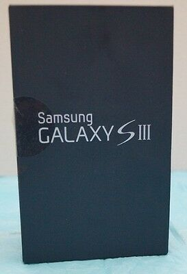 Samsung S3 Empty box with Paper Work