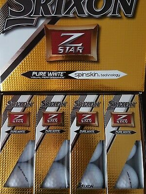 12 x Srixon Z-Star golf balls brand new in box. 1 Day auction only