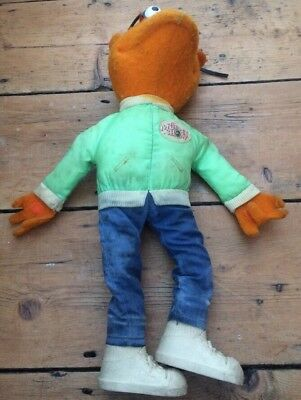 SCOOTER Doll Soft Toy The Muppet Show Muppets Fisher Price 853 1978