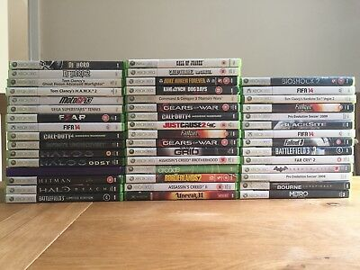 46 x Xbox 360 Games Bundle Job Lot. Call Of Duty, Batman, Halo