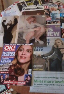 MADONNA - Collection of Articles/Clippings/Ads/Pics  1980's - 2000's - VGC - (2)