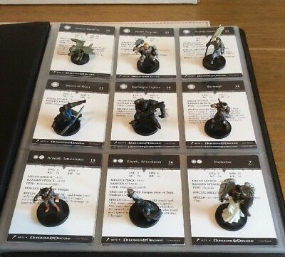 D&D Miniatures-  Giants Of Legend - Complete Uncommon (NO Huge Minis) With Cards