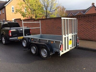 ifor williams GD 8x4 ramped trailer