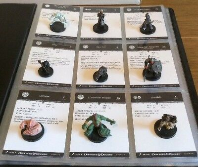 D&D Miniatures - Giants Of Legend - Complete Common Set - With Cards