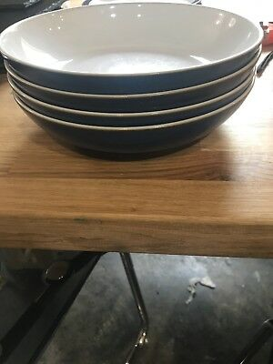 Denby Imperial Blue Pasta Bowl -4 Available