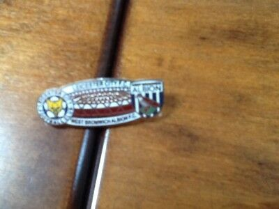 Leicester City V West Brom Albion Football Match Badge