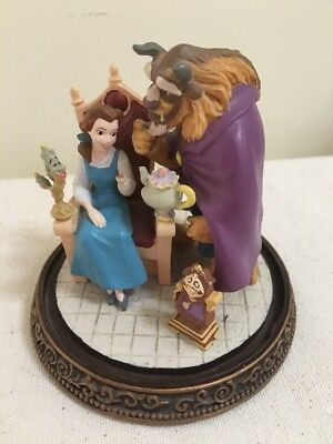 Rare Disney Store Beauty And The Beast Belle Mrs Potts Ornament *damaged*