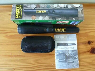 Garret pro pointer comes boxed with instructions