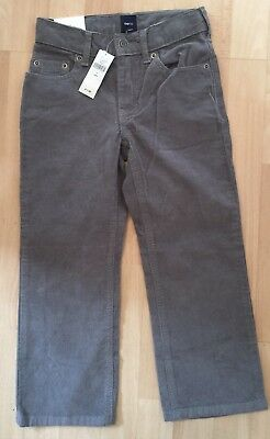 Gap 5 Years Cords Trousers Jeans Girls Boys Beige Grey Brown New BNWT
