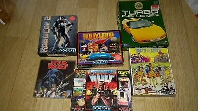 Atari st game bundle *RoboCop *star wars*