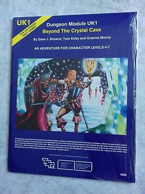 UK1 BEYOND THE CRYSTAL CAVE ~* NEW & still in SHRINK WRAP *~ AD&D TSR Low S/H