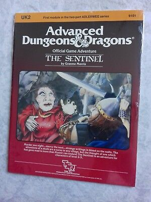UK2 THE SENTINEL ~* NEW SEALED & still in SHRINK WRAP *~ AD&D TSR Low S/H