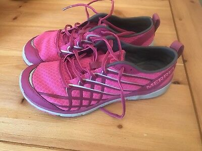 Merrell Pink Trainers Size 5