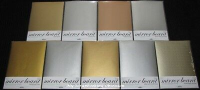 Couture Creations 'MIRROR BOARD' A4 (You choose) Premium Shimmer Sheets 10pk