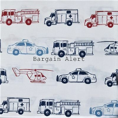 Fire Truck ~ Ambulance ~ Helicopter ~ Police Car ~ Emergency Vehicles Sheets