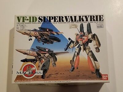 New Bandai Macross 1/100 VF-1D Super Valkyrie Model Kit