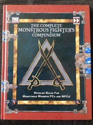 D20 Dungeons & Dragons (D&D) - The Complete Monstrous Fighters Compendium H/back