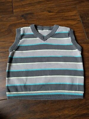 GEORGE - Boys Stripped Tank Top 18-24 months