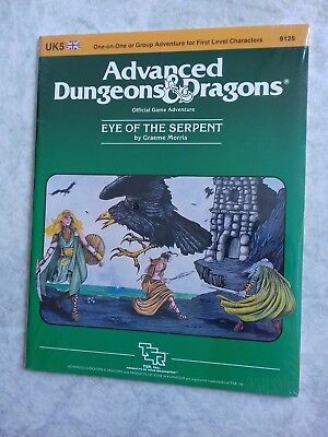 UK5 EYE OF THE SERPENT ~* NEW SEALED & still in SHRINK WRAP *~ AD&D TSR Low S/H