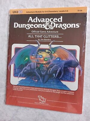 UK6 ALL THAT GLITTERS... ~* NEW SEALED still in SHRINK WRAP *~ AD&D TSR Low S/H