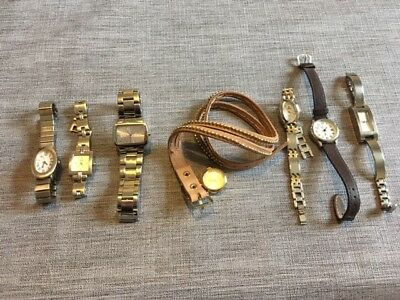 JOB LOT 7 Ladies Watches, NEXT, BENCH, LIMIT. Spares, Repairs or battery