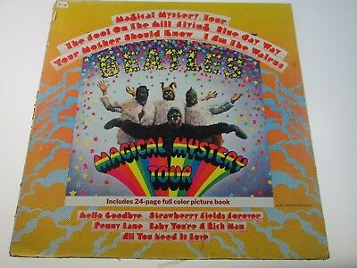 THE BEATLES MAGICAL MYSTERY TOUR VINYL LP 1970's UK APPLE PRESSING SMAL-2835