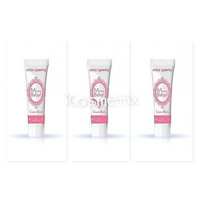 3 x Miss Sporty Morning Baby! Cream Blush - 3 x 14ml Shade 001 Pink Flush