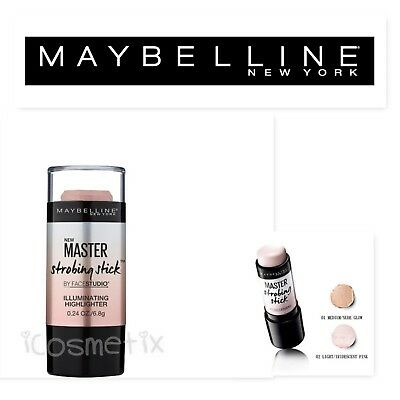 Maybelline Master Strobing Highlighter Stick Shade 200 Medium Nude Glow