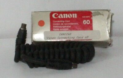 Canon 60 Connecting Cord Boxed in Excellent Condition