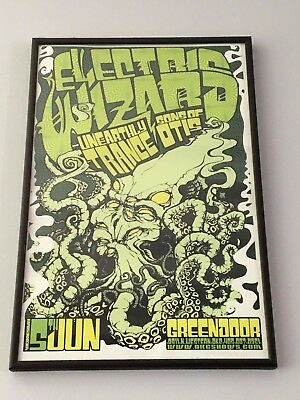 Limited Edition Signed Electric Wizard, Unearthly Trance and Sons of Otis poster
