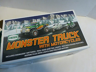 HESS 2007 Monster Truck Motorcycles NEW Collectible