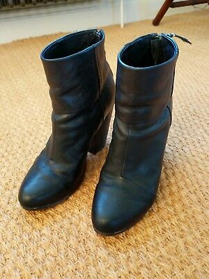 Rag and Bone classic Newbury boot, black, size 40