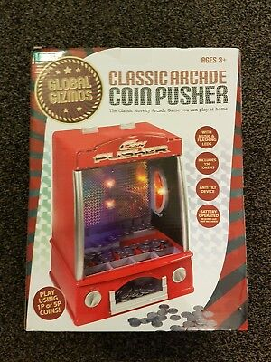 Coin Pusher arcade machine tipping point