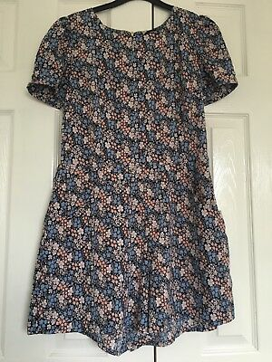 Oasis size 12 flowery playsuit good condition no belt